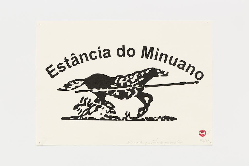"""""""Estância do Minuano"""", 2015-2016, serigrafia sobre papel, 29,7 x 42 cm"""