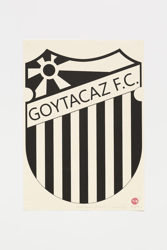 """Goytagaz F. C."", 2015-2016, serigrafia sobre papel, 42 x 29,7 cm"