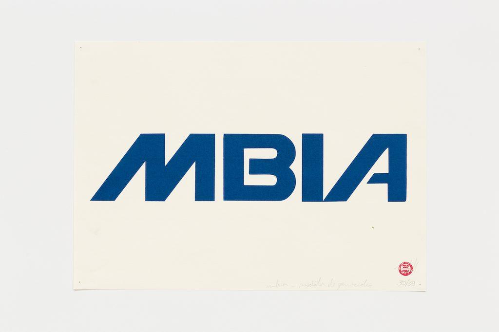 """Mbiá"", 2015-2016, serigrafia sobre papel, 29,7 x 42 cm"