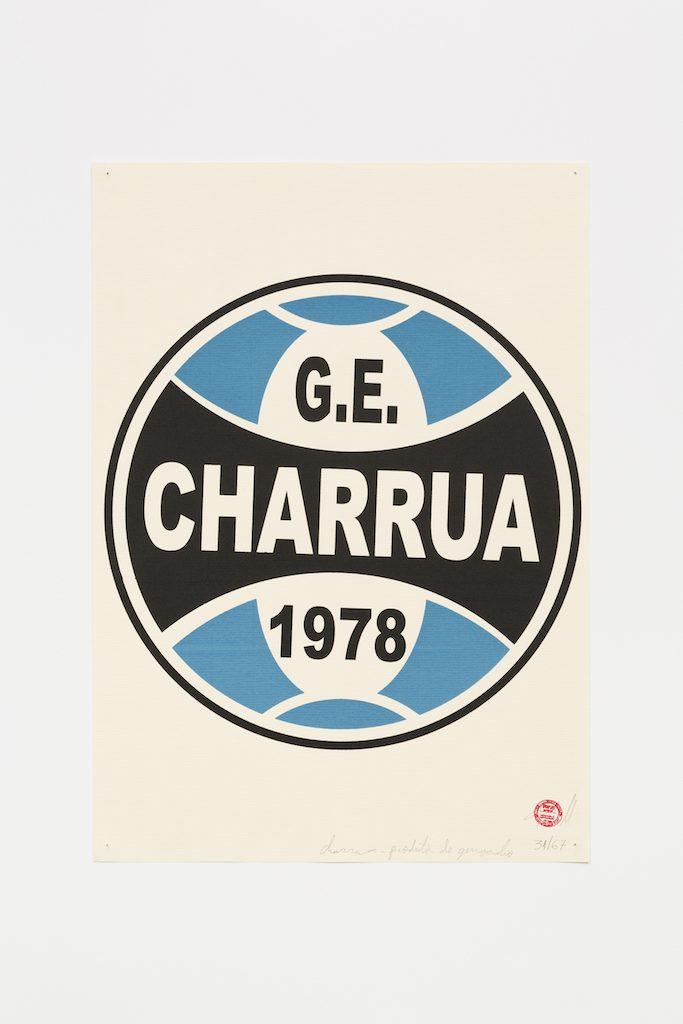 """G.E. Charruá"", 2015-2016, serigrafia sobre papel, 42 x 29,7 cm"