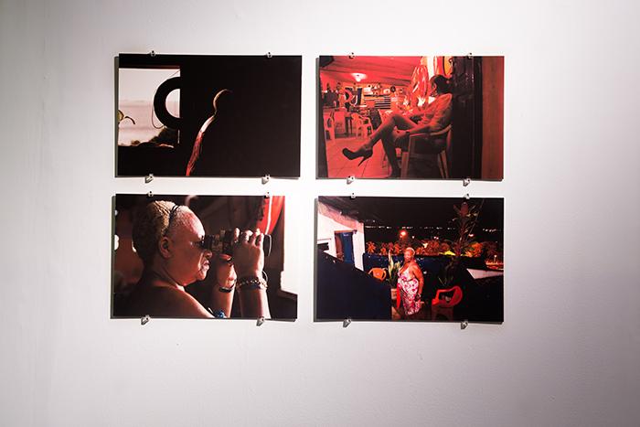"""""""Em torno dos meus marítimos"""", 2014, fotografia e video, 4 fotos de 50 x 70 cm e vídeo 8'55"""""""