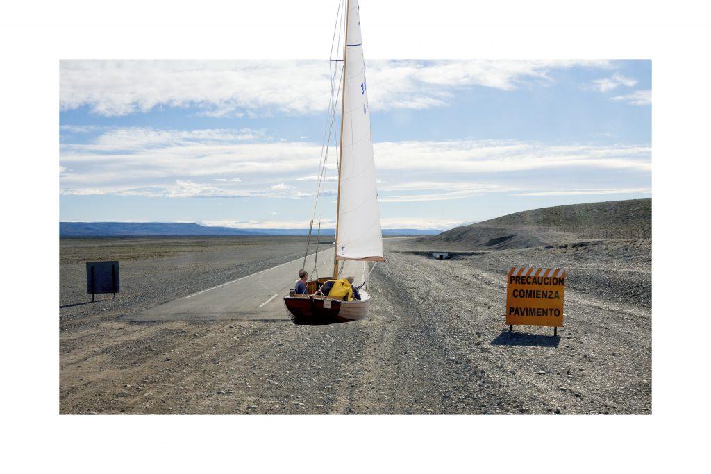 "Daniel Beerstecher, ""Land-Sailor VI"", 2012, photo collage, fine art paper pasted on photo paper, edition: 2/3 + 1 AP, 40 x 60 cm, acquisition/commissioning"