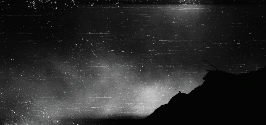 """paisagem#01"", 2014, Microfilm printed on cotton paper, 100 cm x 422 cm"