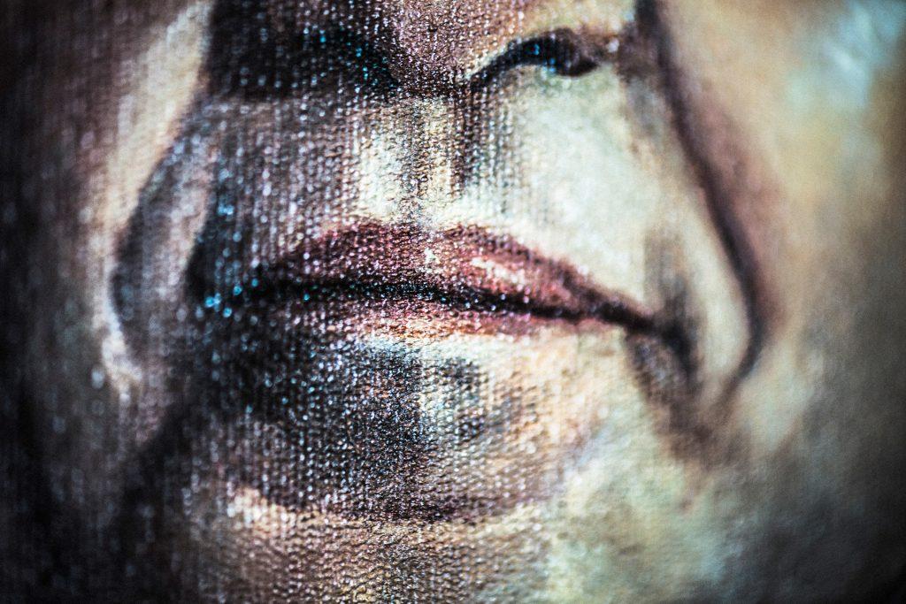 """""""A máscara, o gesto, e o papel"""", 2017, tamanhos variados"""